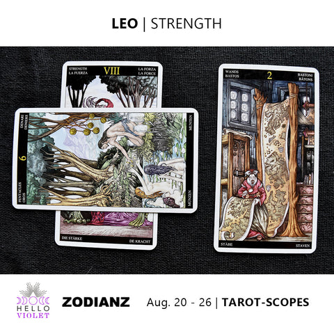 Leo Zodiac Tarot-Scopes (Eclipse Special) August 20 - 26
