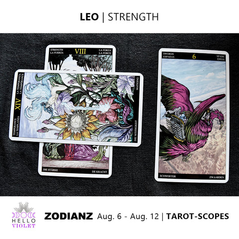 Leo Tarot-Scope August 6 - 12 2017