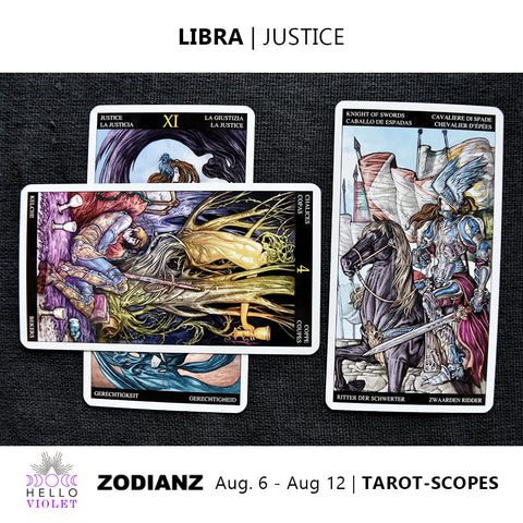 Libra Tarot-Scope August 6 - 12 2017