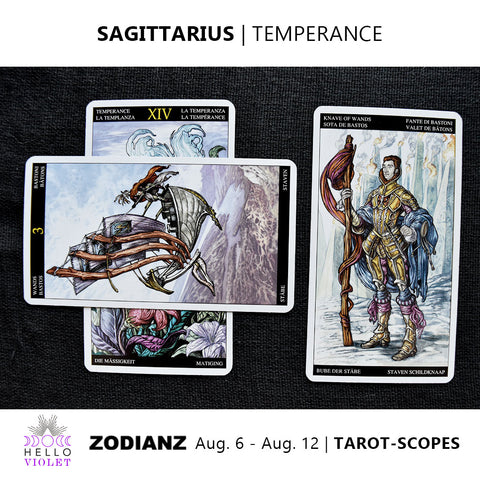 Sagittarius Tarot-Scope August 6 - 12 2017