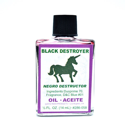 Black Destroyer Oil - Hello Violet