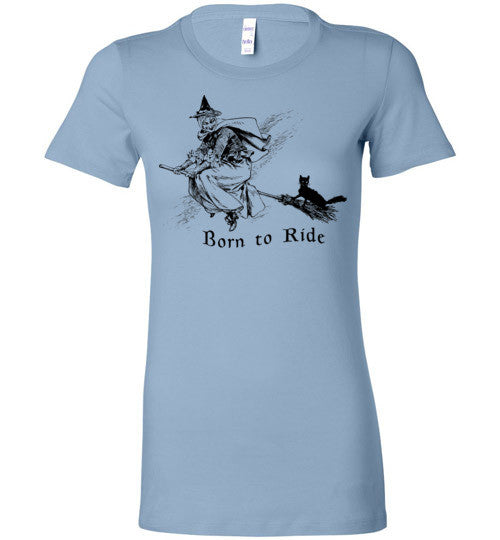 Born To Ride Witch T-Shirt - Hello Violet