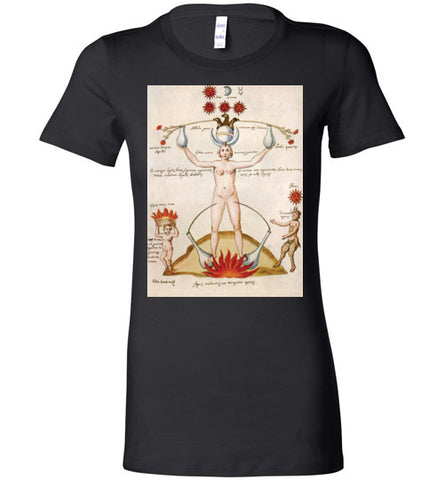 Three and One Hermetic Tee - Hello Violet