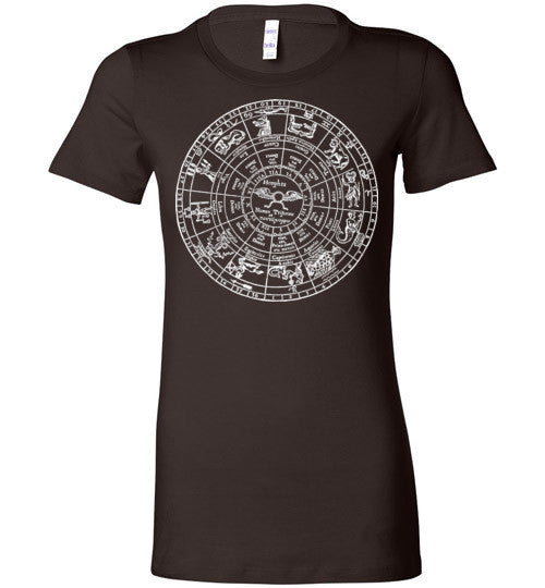 Zodiac Wheel T-Shirt - Hello Violet