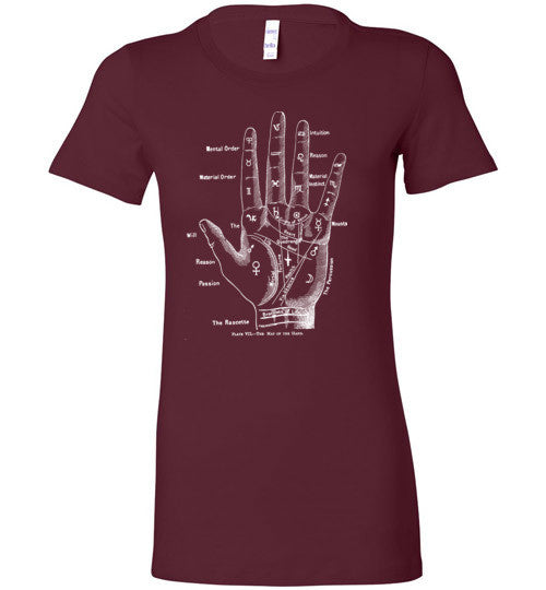 Palmistry T-Shirt - Hello Violet