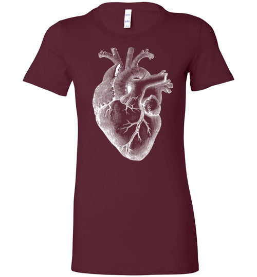 Anatomical Heart Tee - Hello Violet