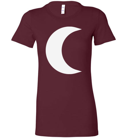Witchy Crescent Moon Tee - Hello Violet