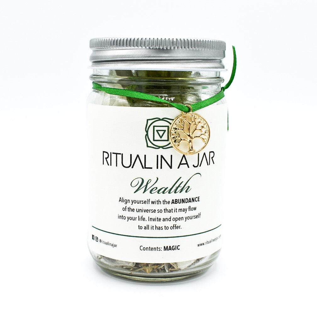 Wealth Ritual in a Jar - Hello Violet