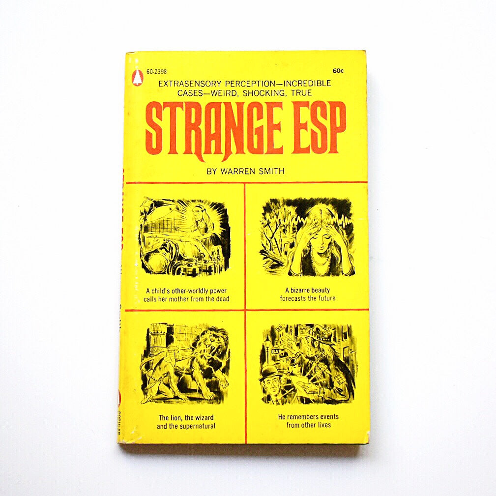 Strange ESP // 1969 Vintage Paperback // Warren Smith