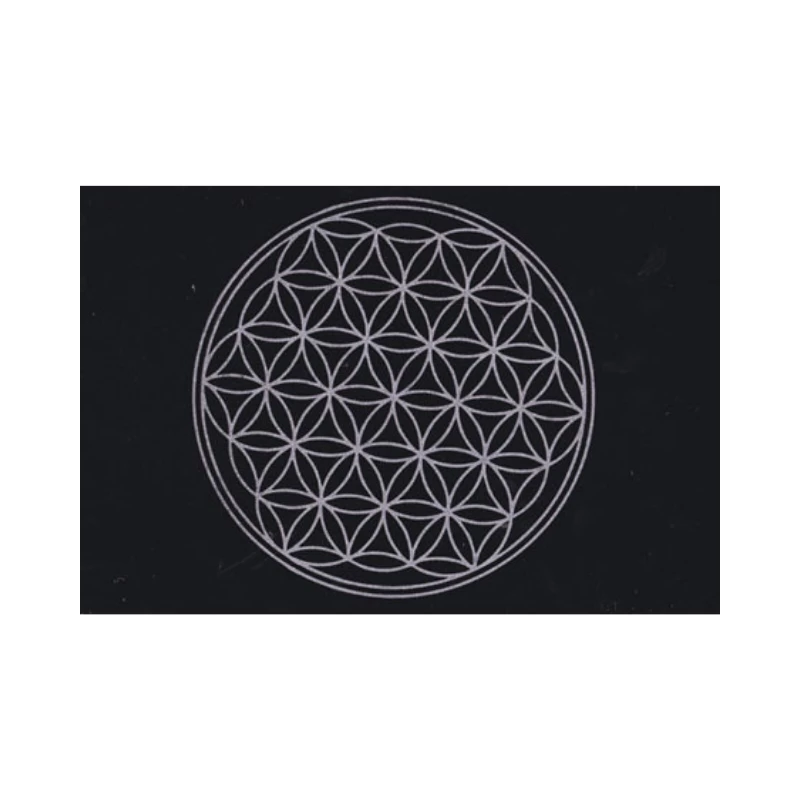 Flower of Life Crystal Grid Mat