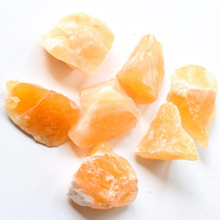 Raw Orange Calcite