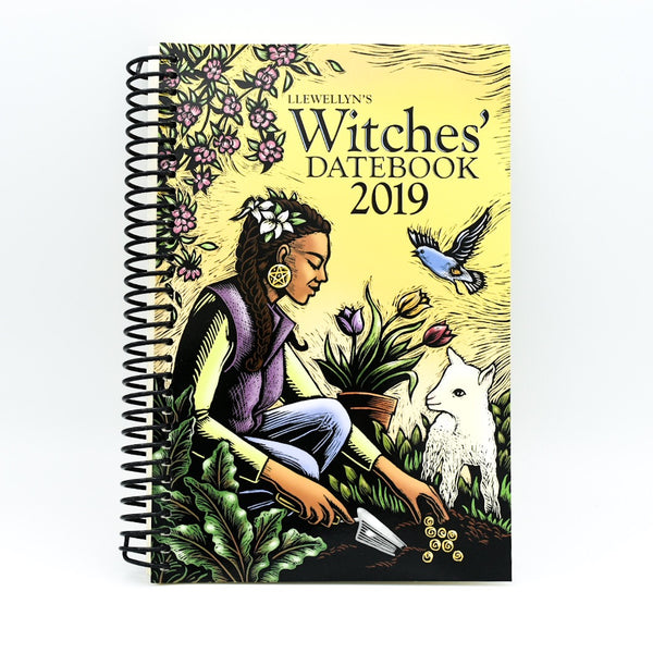 Llewellyn's 2019 Witches' Datebook - Hello Violet