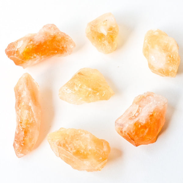 "Small Raw Citrine Crystal Point 1""+"
