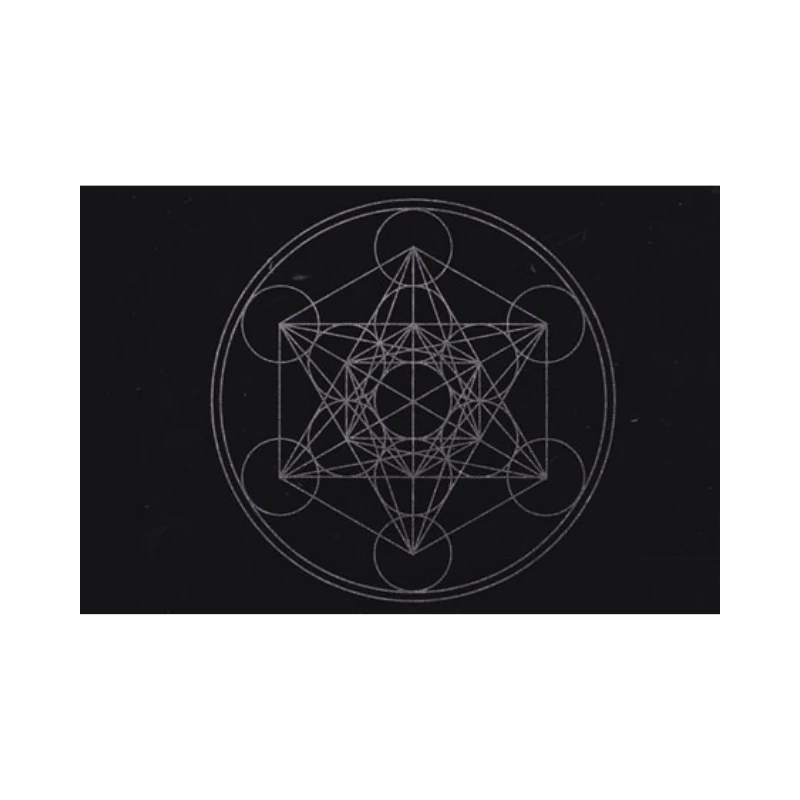 Metatron Crystal Grid Mat