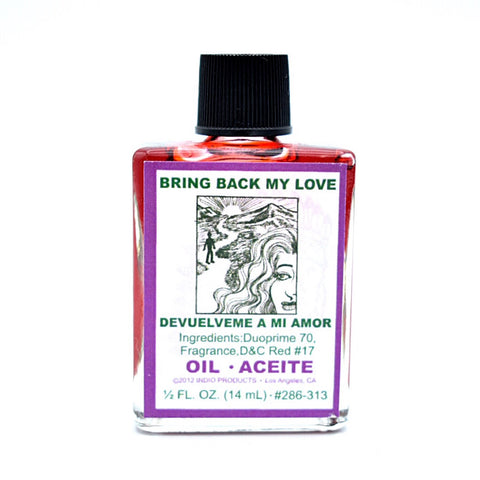 Bring Back My Love Oil - Hello Violet