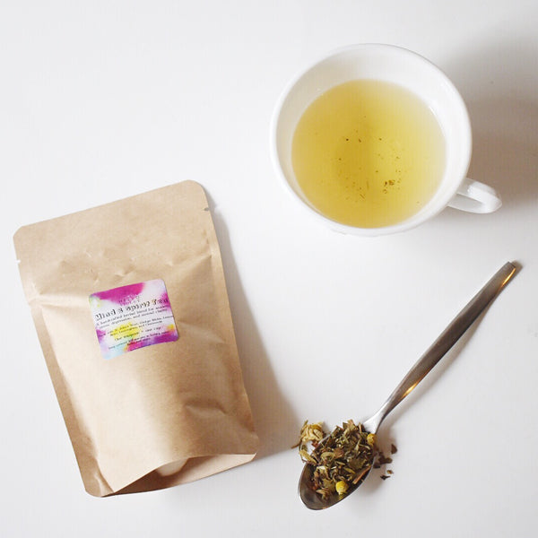 Mind & Spirit Tea - An Herbal Blend For Depression, Anxiety, Stress, Mental Clarity - Hello Violet