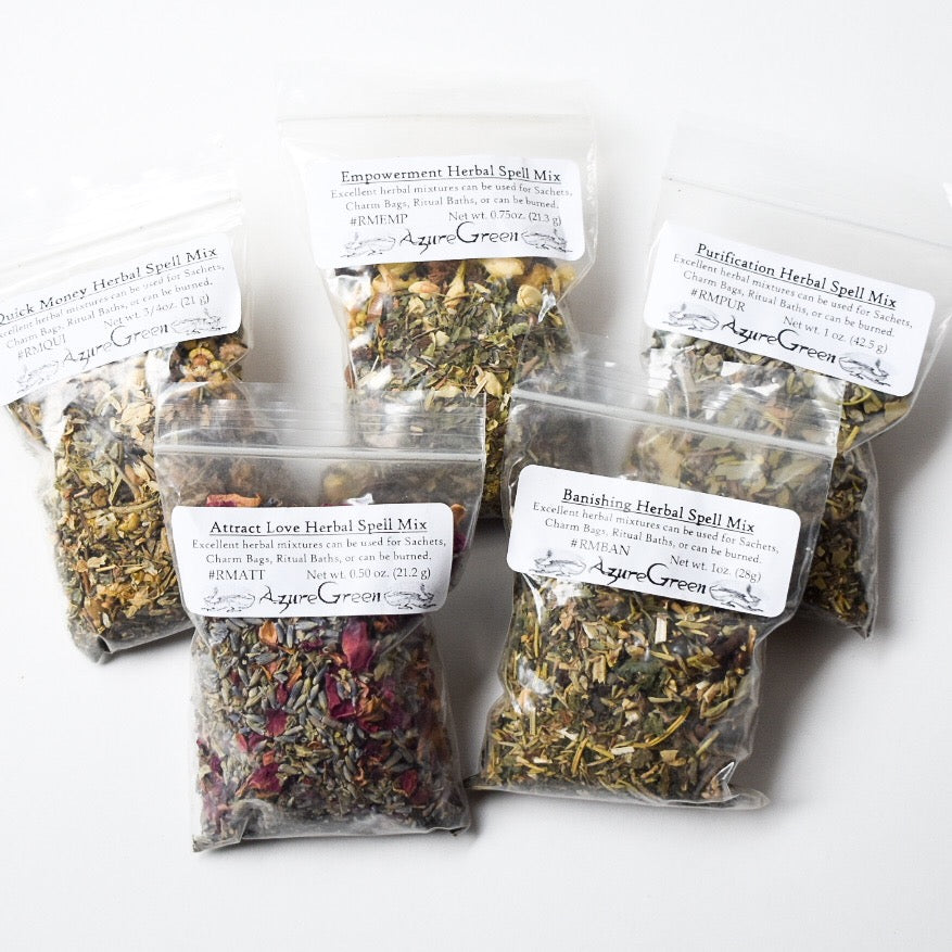 Spell and Ritual Herb Blends