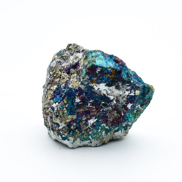 Chunky Peacock Ore (Chalcopyrite) - Hello Violet