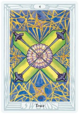 Crowley Thoth Large Tarot Deck - Hello Violet