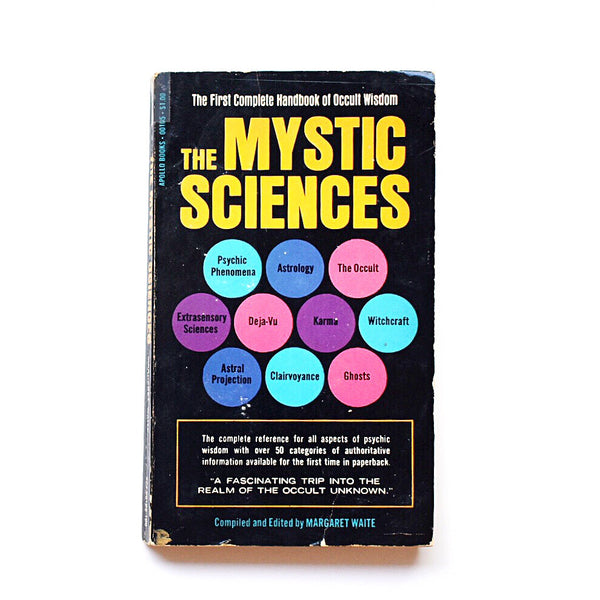 The Mystic Sciences // Margaret Waite // Rare 1971 Paperback