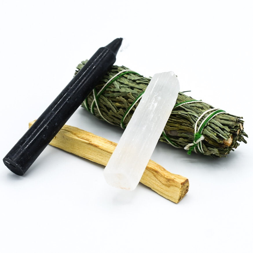 Cedar Smudge Clearing & Protection Bundle - Hello Violet