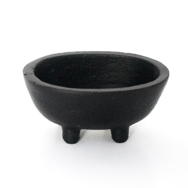 Mini Oval Cast Iron Cauldron - Hello Violet
