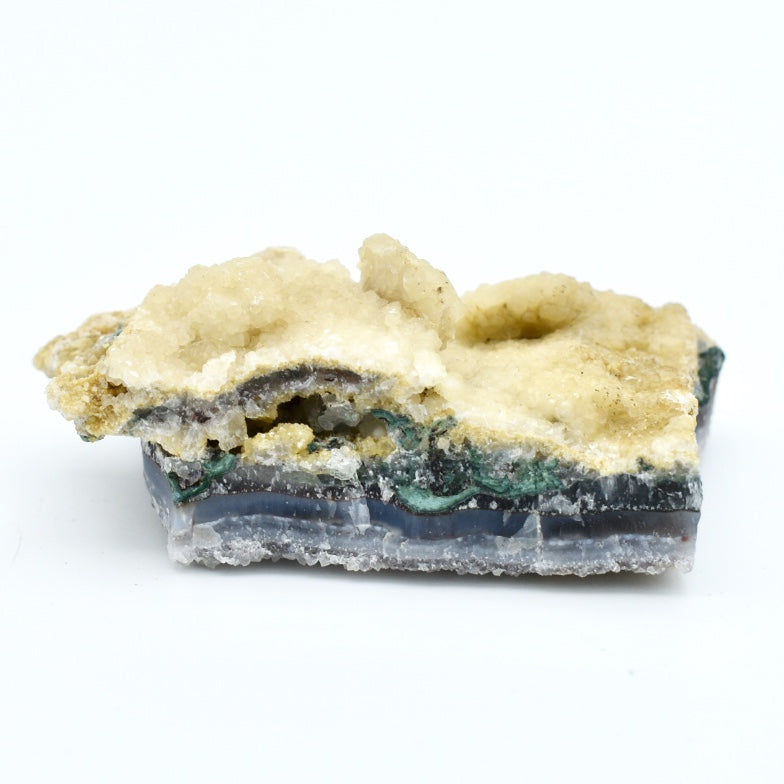 Calcite Crystal On Matrix - Hello Violet
