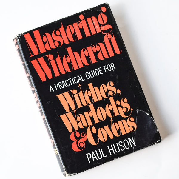Mastering Witchcraft - Vintage 1970 Hardcover