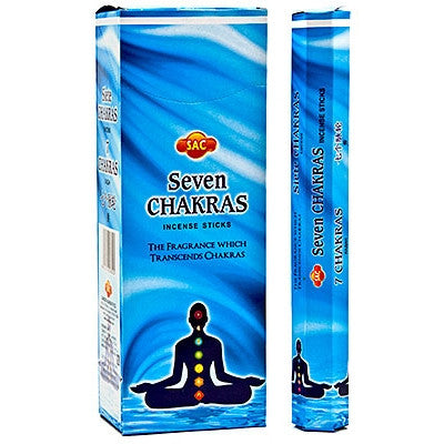 7 Chakras SAC Incense 20 Sticks