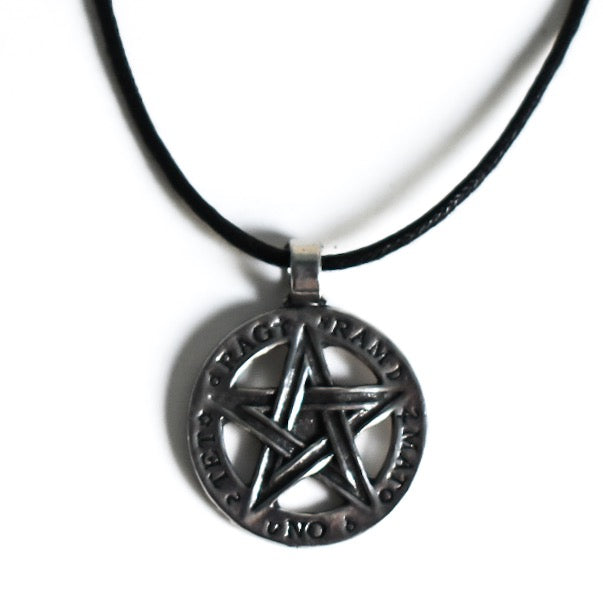 Divine Protection Pentacle Amulet
