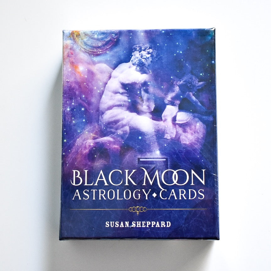 Black Moon Astrology Cards - Hello Violet