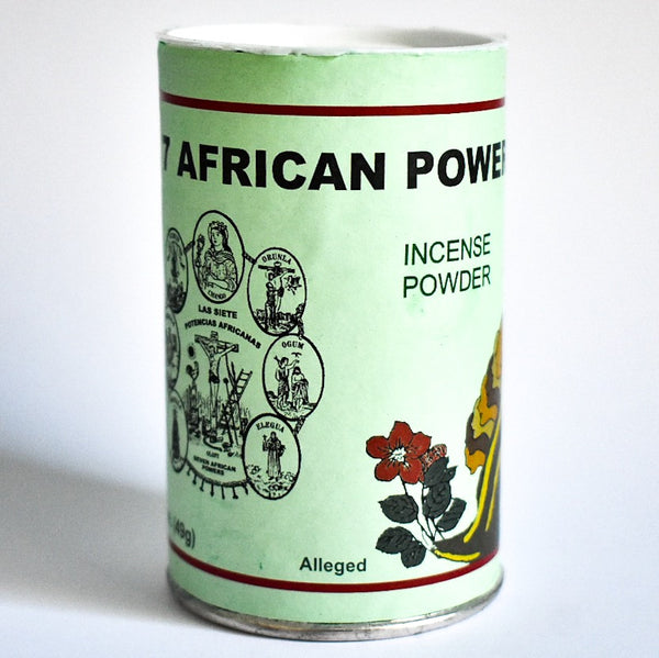 7 African Powers Incense Powder - Hello Violet