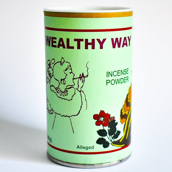Wealthy Way Incense Powder