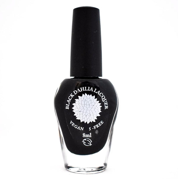 Black Dahlia Nail Lacquer - Midnight Rose