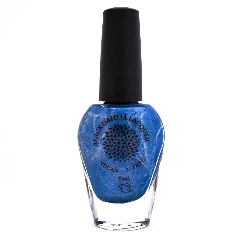 Black Dahlia Nail Lacquer - Blue Ginger