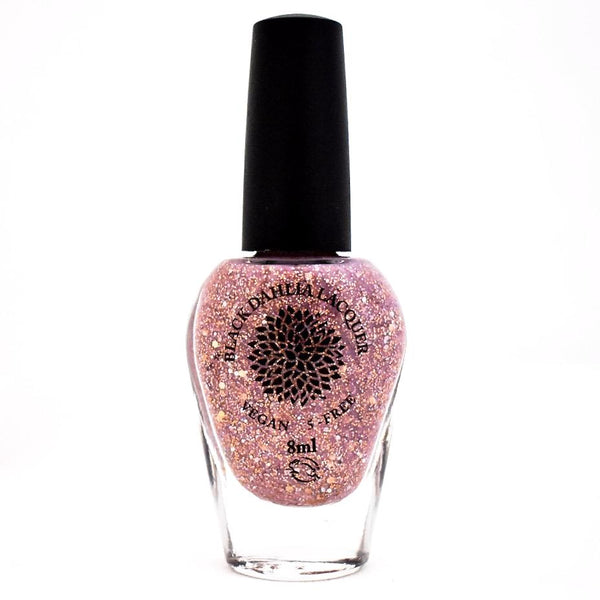 Black Dahlia Nail Lacquer - Rose Gold Thistle