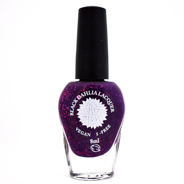 Black Dahlia Nail Lacquer - Purple China Aster