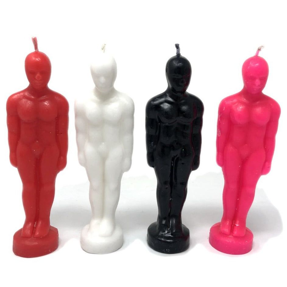 Man Figure Candle - Hello Violet