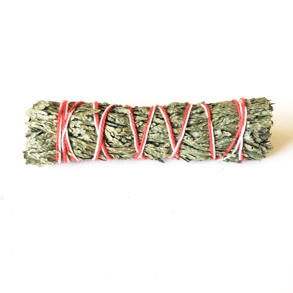 "Cedar Smudge Stick 3-4"" - Hello Violet"