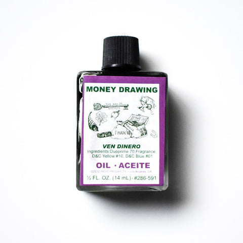 Money Drawing Oil - Hello Violet