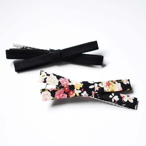 Bow Barrette - Hello Violet