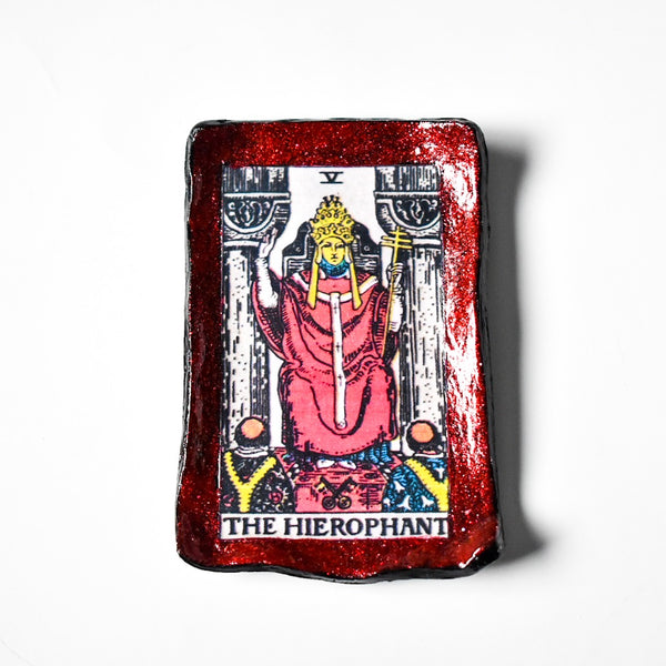 The Hierophant Tarot Trinket Dish
