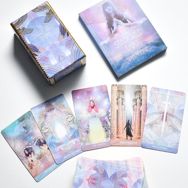 Starchild Tarot Akashic Traditional Deck and Guidebook