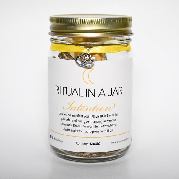 Intention Ritual in a Jar