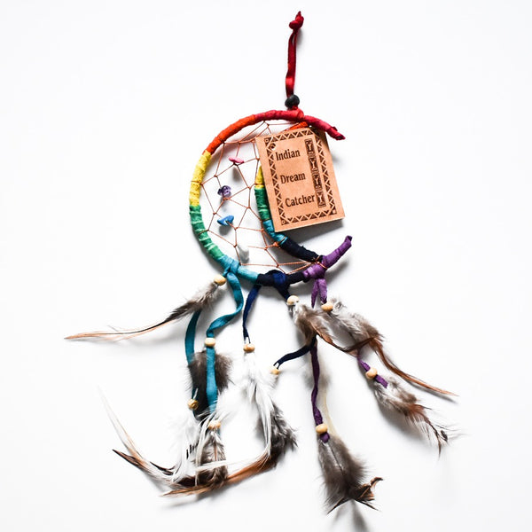 Rainbow Moon Dream Catcher
