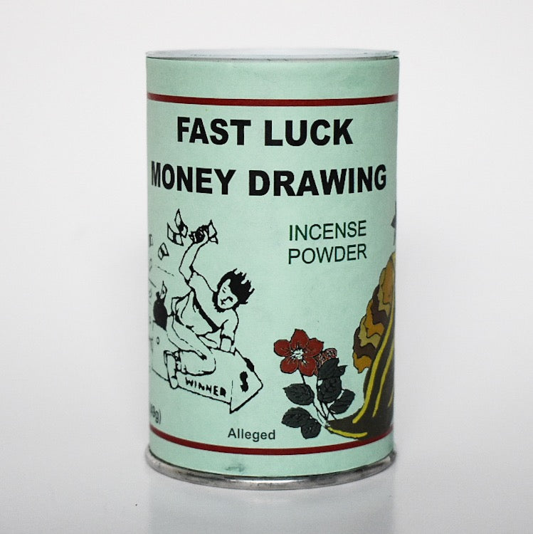 Fast Luck Money Drawing Incense Powder