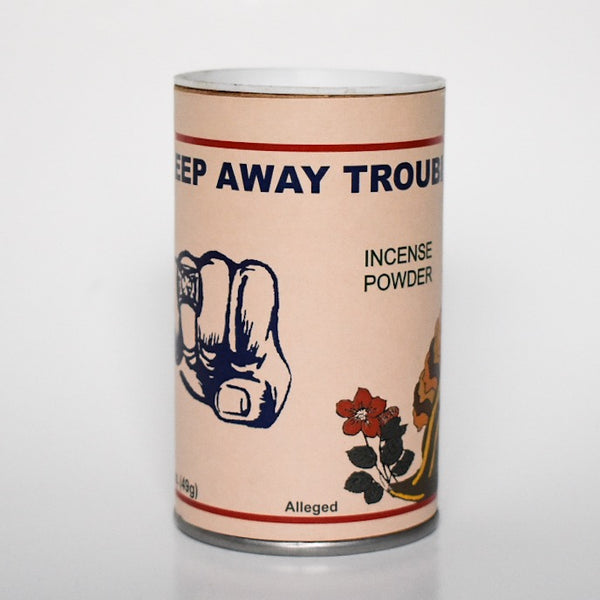 Keep Away Trouble Incense Powder - Hello Violet