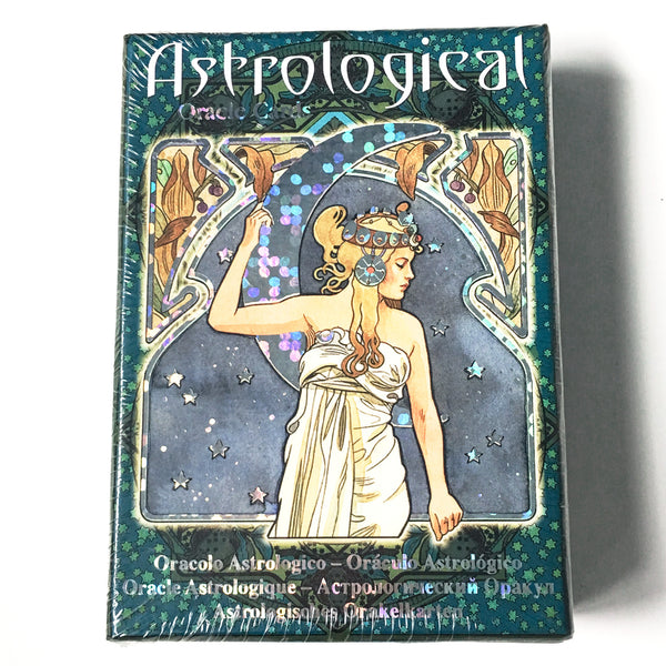 Astrological Oracle Cards - Hello Violet