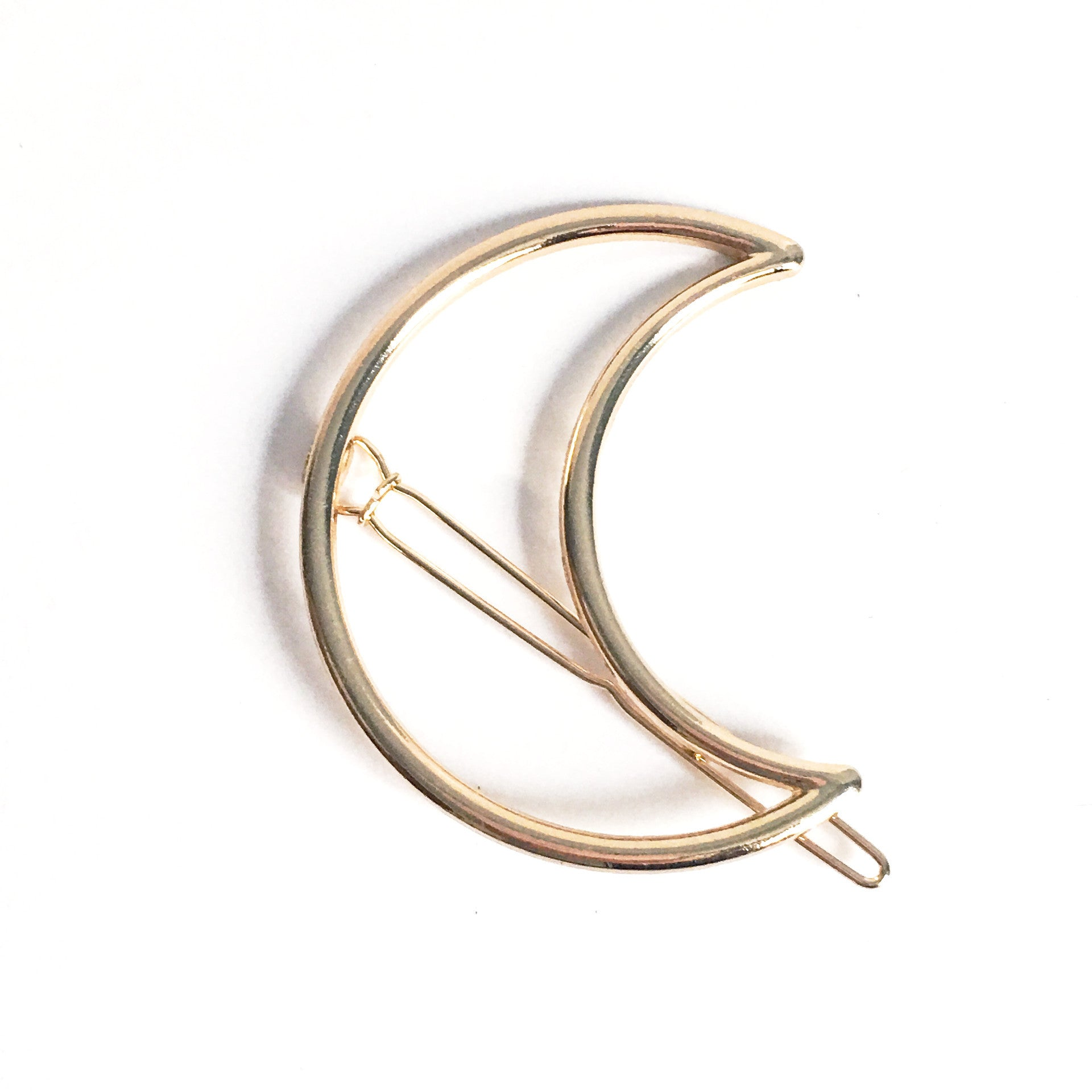 Crescent Moon Hair Clip - Hello Violet
