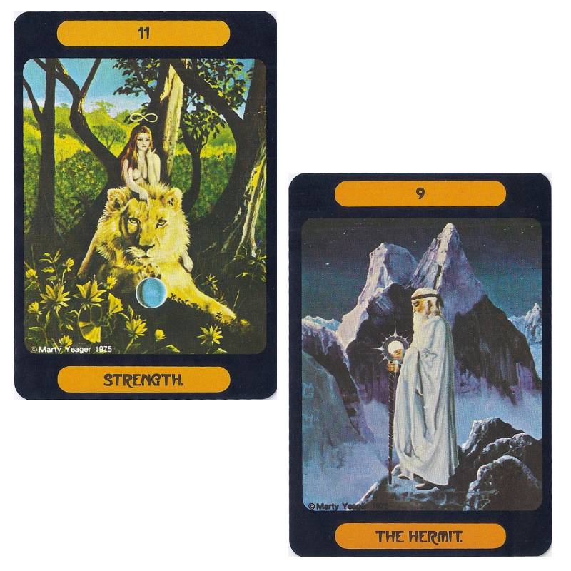 Yeager Tarot of Meditation